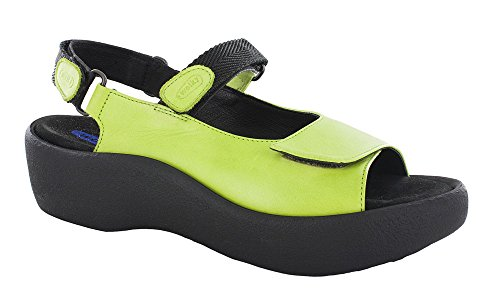 WOLKY Womens Sandals 3204 Jewel Lime, Size-38
