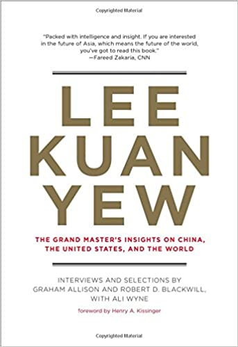 image for Lee Kuan Yew: The Grand Master's Insights on China, the United States, and the World (Belfer center studies in international security)