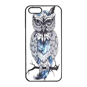 Iphone 5s Case,Hard PC Iphone 5s Protective Case for Ultimate Protect iphone 5s with New owl painting