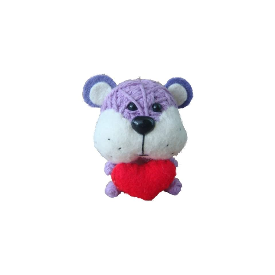 String Voodoo Doll Love Love Bear Baby Animal Series   100% Handmade