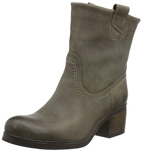 Bullboxer 539e6l500, Zapatillas de Estar por Casa para Mujer Gris - Grau (Nwtp)