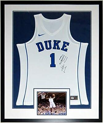 hot sale online 972c3 7dacd Zion Williamson Signed Nike Duke Blue Devils Jersey - PSA ...