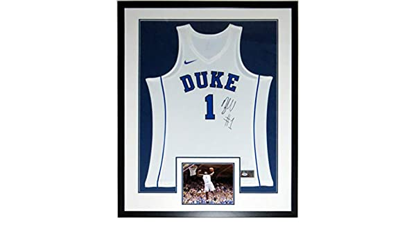 hot sale online c0c6f 7416a Zion Williamson Signed Nike Duke Blue Devils Jersey - PSA ...