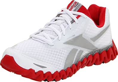 Reebok Women's Premier ZigFly SE Running Shoe,White/Pure Silver/Carbon/Redtastic/Black,5 M US