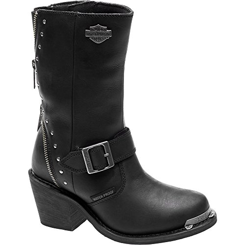 Women's Motorcycle Boots. Harley-Davidson Women's Rosanne Waterproof Motorcycle Riding Boots