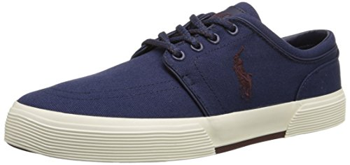 (Polo Ralph Lauren Men's Faxon Low, Observer Blue, 9.5 D US )