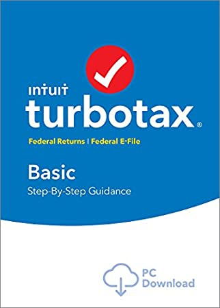 TurboTax Basic 2016 Tax Software Federal + Fed Efile PC download