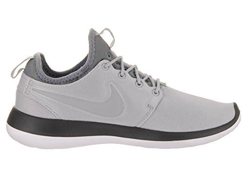 Nike Womens Roshe Due Scarpe Da Corsa Grigio Scuro / Grigio Lupo / Grigio Freddo