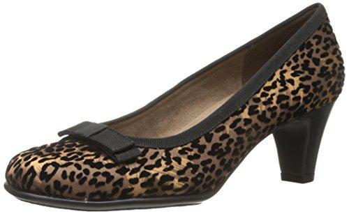 Aerosoles Mujeres Playhouse Pump Leopard Fabric Suede