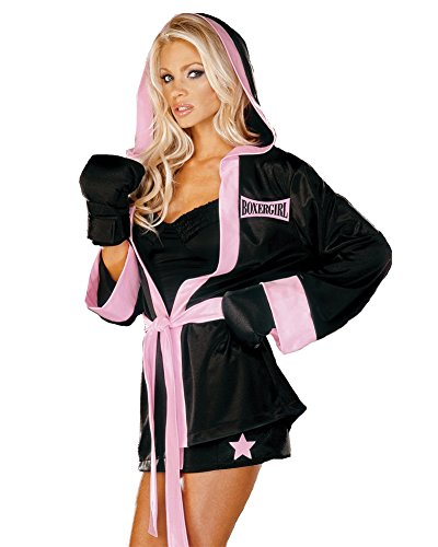 [Boxer Girl Costume - Plus Size 3X/4X - Dress Size 18-20] (Mens Sports Costume Ideas)