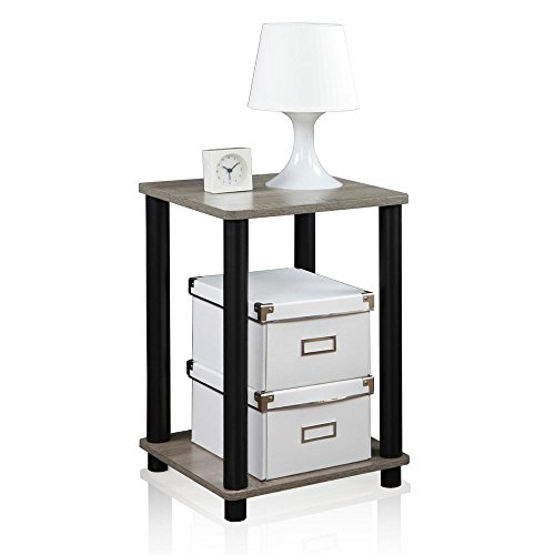 End Table, 1-Pack, French Oak Grey/Black ()