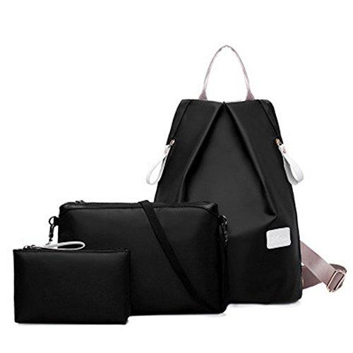TOMATO-smile - Bolso mochila  para mujer azul negro negro