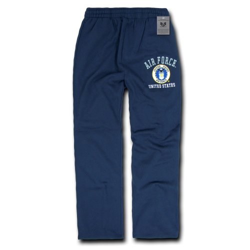 Rapiddominance US Air Force Fleece Pant, Navy, Large
