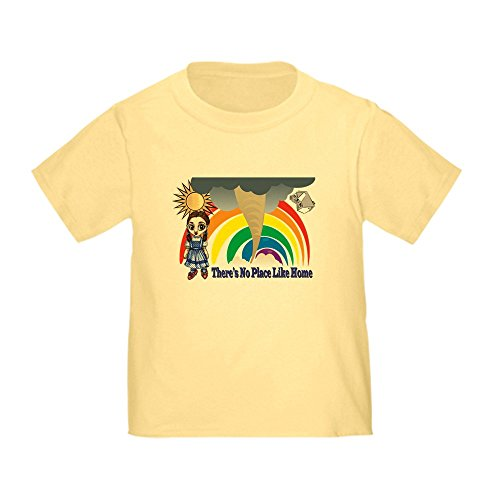 CafePress Dorothy Tornado Wizard of Oz Toddler T-Shir Cute Toddler T-Shirt, 100% Cotton Daffodil ()
