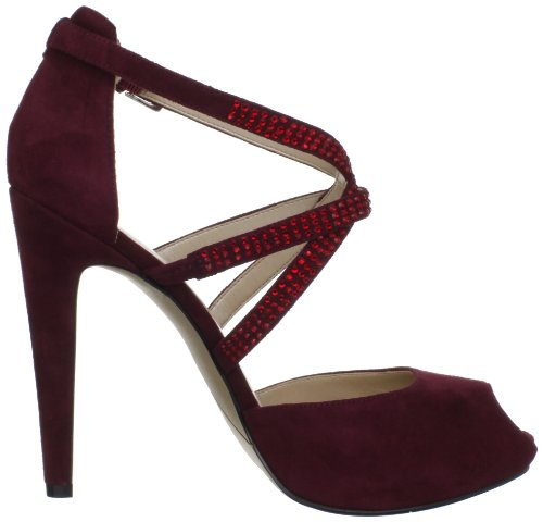 Nine West Justmaybe, Scarpe col tacco donna Rosso Wine