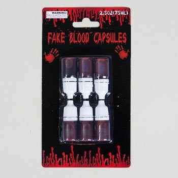 Set of 48 Halloween Fake Blood Capsules! 240ml (Over 8 Ounces!) of Halloween Costume Fake Blood for Wearing and Decoration! (8) - Diy Evie Costume Descendants
