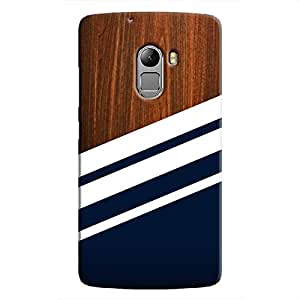 Cover It Up Office Panel Hard Case For Lenovo K4 Note, Multi Color