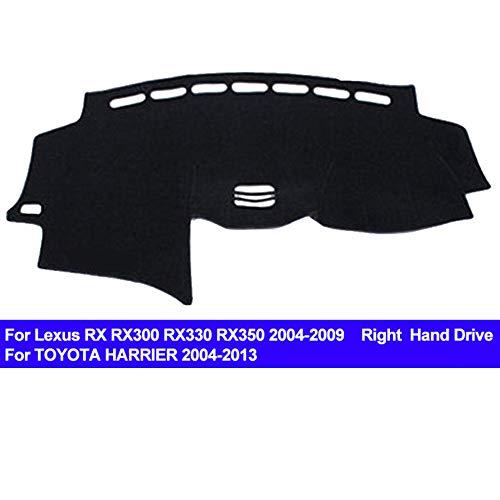 (AUCD Car Dashboard Cover Dash Mat for Lexus RX RX300 RX330 RX350 2004-2009 Harrier 2004-2013 Non-Slip Sun Shade Pad Carpet)