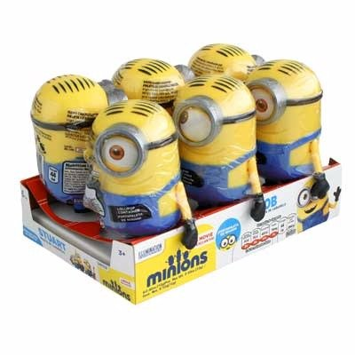 Minion Hard Candy Lollipop 6pc / Minion Paleta