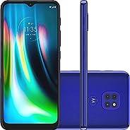 Smartphone Moto G9 Play Azul Safira, com Tela de 6,5, 4G, 64GB e Câmera de 48MP + 2MP + 2MP - XT2083-1&