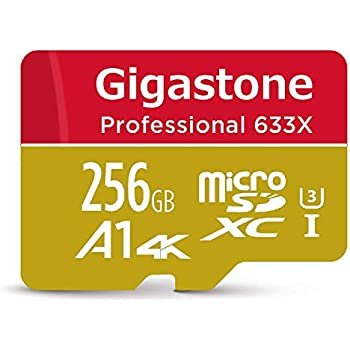 Amazon.com: Gigastone 256GB Micro SD Card UHS-I U1 Class10 ...