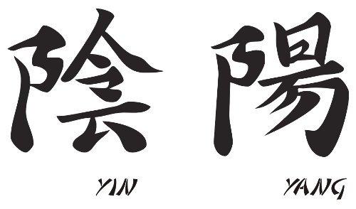 Wandtattoo China Schrift