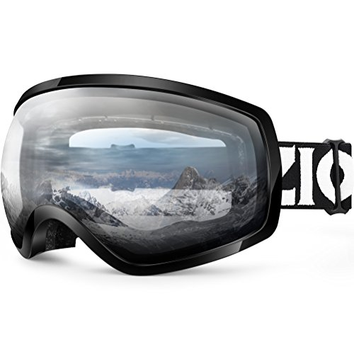 View Clear Lens - ZIONOR Lagopus Ski Snowboard Goggles UV Protection Anti-fog Snow Goggles for Men Women Youth