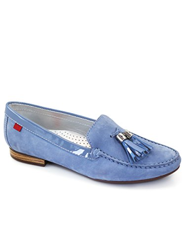 Marc Joseph NY Women's Fashion Shoes Wall Street Tassel Loafer (More Size/Colors Available)