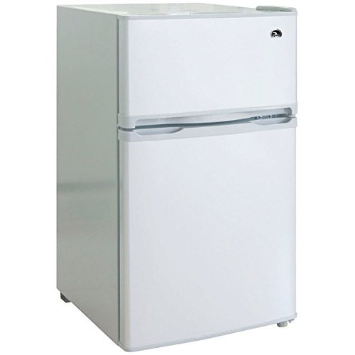 Igloo 2 Door Refrigerator Freezer White