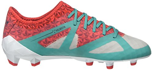 Umbro Velocita III Pro HG, Scarpe da Calcio Uomo Multicolor (Dawn Blue/Carbon/Fiery Red/Spectra Green Epe)
