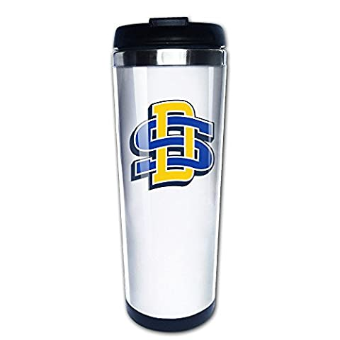 Black South Dakota State University1 Insulation Stainless Steel Lid Coffee Mugs 13oz Unisex Printed On Both (Willie Nelson Patch)