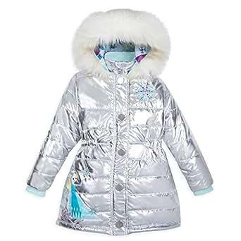 Amazon.com: Disney Elsa Metallic Winter Jacket for Kids