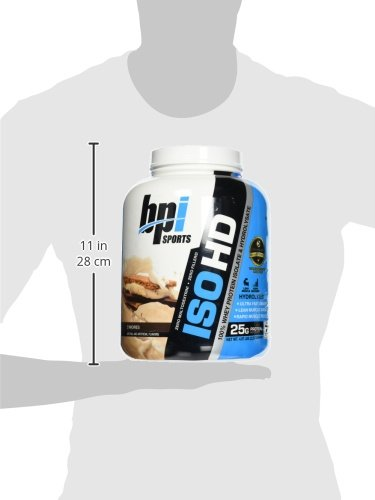 BPI Sports ISO HD 100% Protein Isolate & Hydrolysate, S'mores, 5.3 Pound by BPI Sports (Image #4)