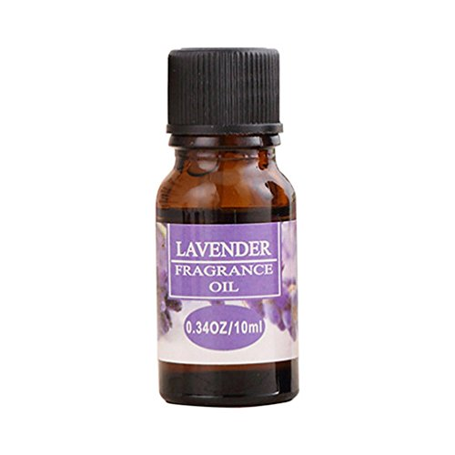 Meiyuan 10ml Natural Pure Essential Oil Aromatherapy Scent Therapeutic Plant Aromatic (Lavender Lamp Oil)