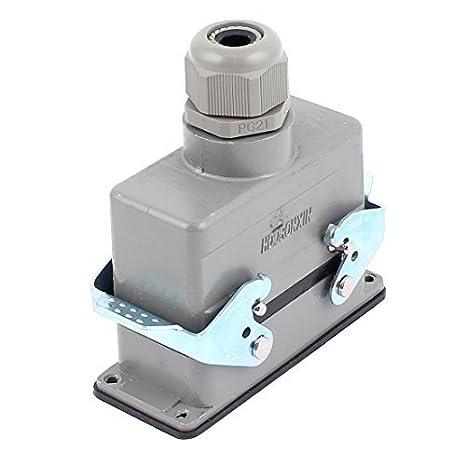 eDealMax HDC-HE-016-2 400V / 500V 16A 16 Pin PG21 tornillo ...