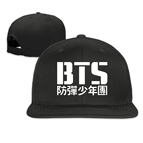 (HIITOOP Young Forever BTS Baseball Cap Hip-Hop Style Black )