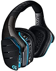Logitech Cuffia con Microfono da Gioco G933 Artemis Spectrum, 2.4 GHz Wireless, 7.1 Surround Sound PRO per PC, Xbox One e PS4, Nero