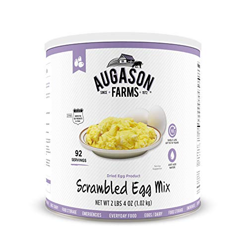 Augason Farms 5-90158 Scrambled Egg Mix, 2 lbs, 4 oz. No. 10 Can