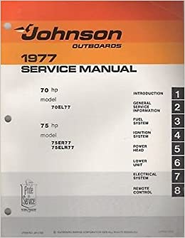 1977 evinrude 70 hp service manual