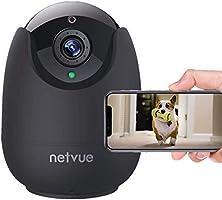 Dog Camera-1080P FHD Pet Camera with Phone App, Pan/Tilt/ Zoom Puppy Camera with 2-Way Audio, AI Human Detection, Night...
