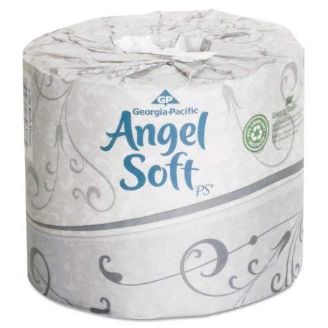 GPC 168-40 Angel Soft ps Premium Bathroom Tissue, Case of 40 - Soft Bath Ps Angel