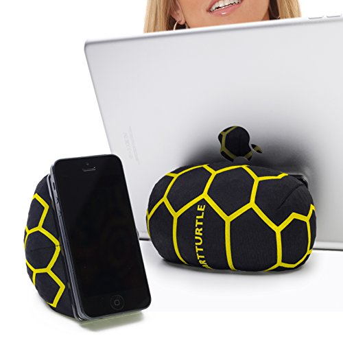 SMARTTURTLE a multifunctional iPad Bed & Lap Stand, Bean Bag, PadPillow, Universal Tablet Holder, for smartphones, eReaders, iPhone, iPad 1/2/3/4, Mini, Air, Samsung Note Galaxy - yellow