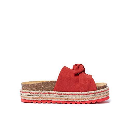 Colore In Sandalo Ema Eco pelle Di Rosso Modello PFFt4
