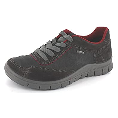 Leder grau Schuhe Legero Wechselfußbett Nubuk G Schuhweite