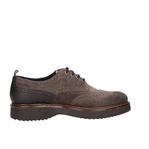 Docksteps Wells Low 1690, Chaussures à Lacets Homme Gris (Dark Grey/Black 415)