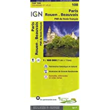 Paris Rouen Beauvais 1:100 000