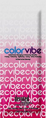 Lot of 5 Color Vibe Tanning Lotion Packets by Devoted Creations - Vibe Bronzer