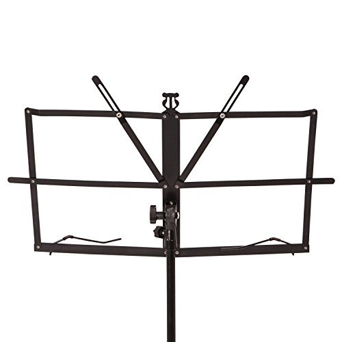 Crafty Gizmos Black Adjustable Folding Music Stand with Carrying Bag by Crafty Gizmos (Image #2)
