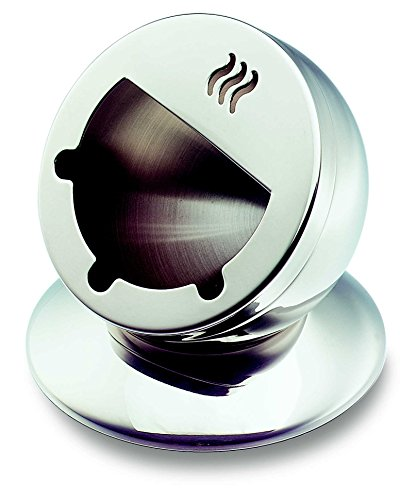 HAKKU Hair Iron Metier 【18/10 Stainless Steel】 Swing Ashtray D0008, medium, Clear