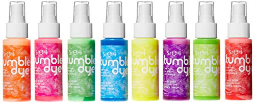 (SEI Tumble Dye Craft and Fabric Spray 2oz 8/Pkg-Neon Assorted Colors)